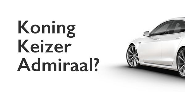 Hoelang blijft Tesla boegbeeld elektrische rijden?