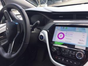 Energiegegevens Opel Ampera-E
