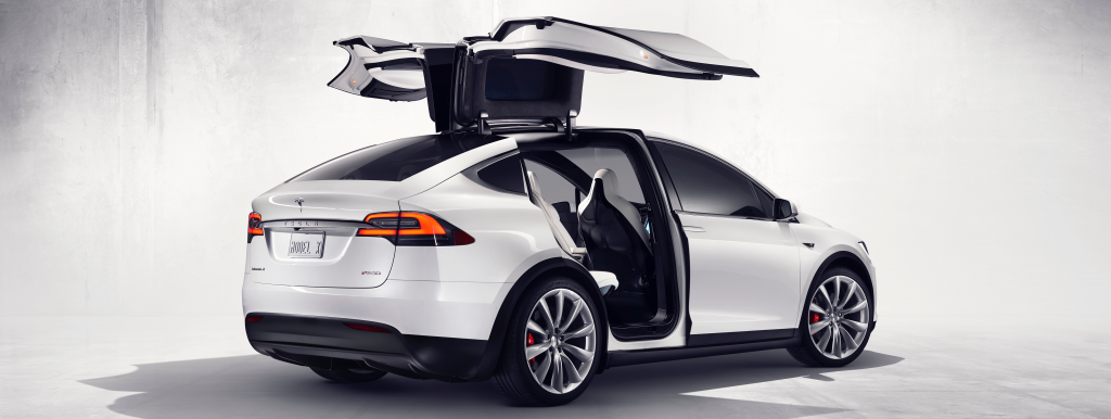 Tesla model X Groningen
