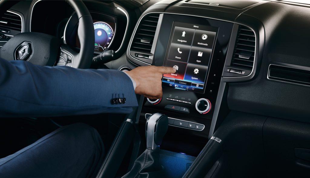 Renault Koleos multimediascherm