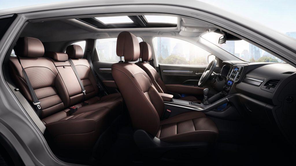 Renault Koleos van binnen