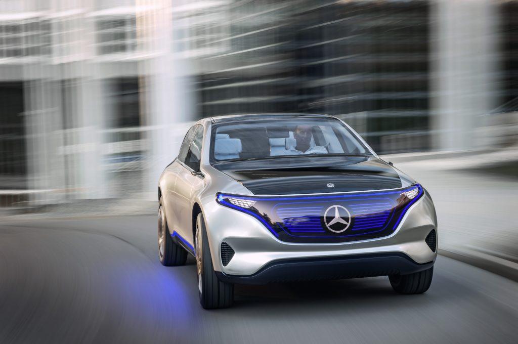 Concept EQ als sportieve SUV