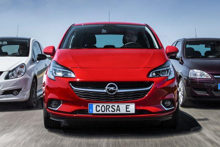 Volledig elektrische Opel Corsa