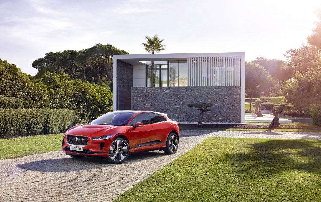 Elektrische Jaguar