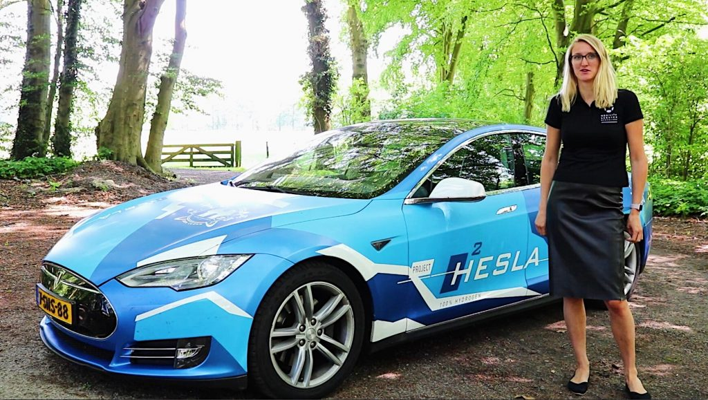 Hesla, waterstofauto