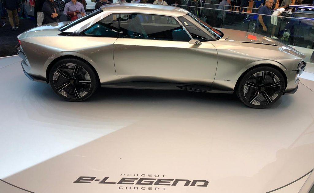 Peugeot E Legend Concept Op Autosalon Van Parijs 2018 Leaseblog Nl