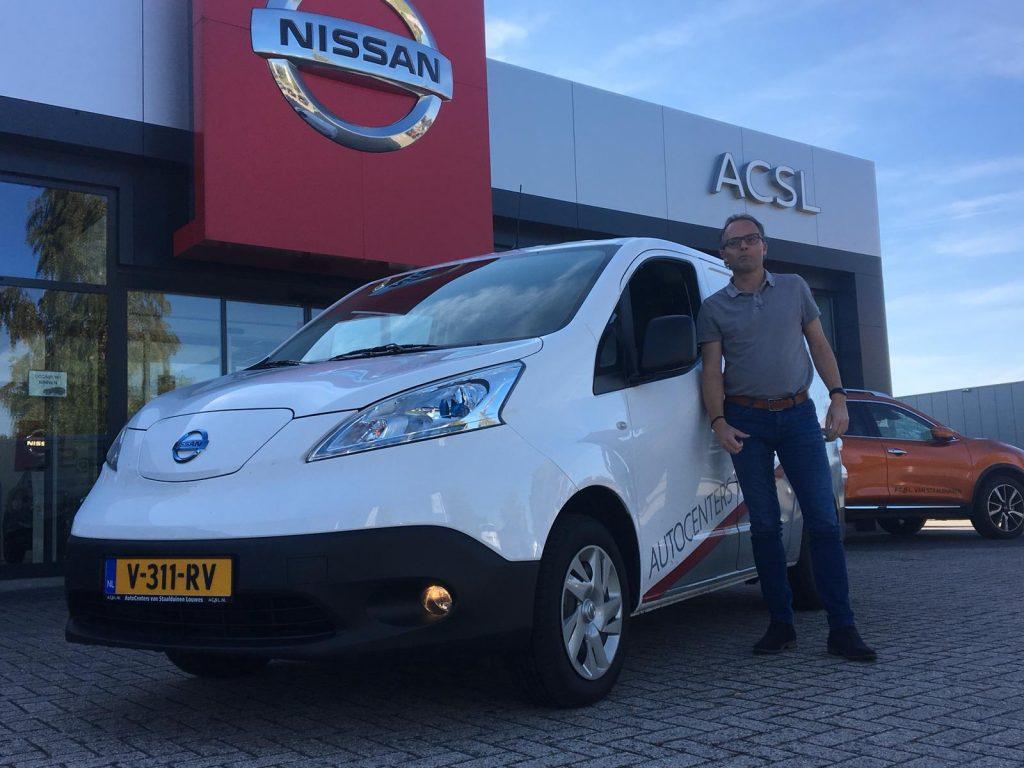 Praktijkervaringen Met 100 Elektrische Nissan E Nv200 Evalia