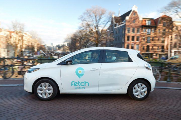 Renault Zoe als elektrische deelauto in Amsterdam