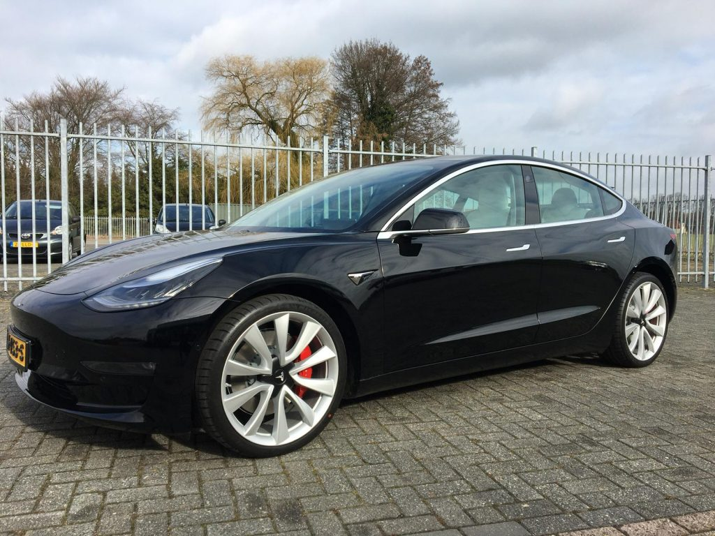 Levertijd Tesla Model 3