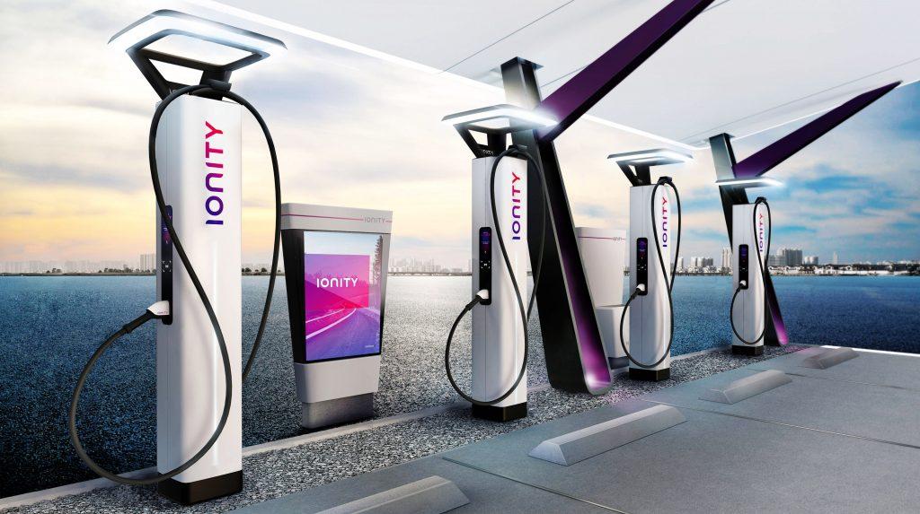 Elektrische auto opladen in het buitenland met IONITY snellaadstations