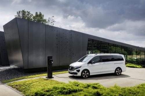 Mercedes EQV krijgt actieradius van 405 kilometer