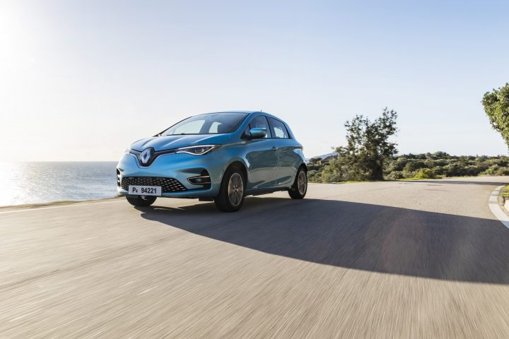 Renault Zoe met 52 kWh accupakket leasen in 2019
