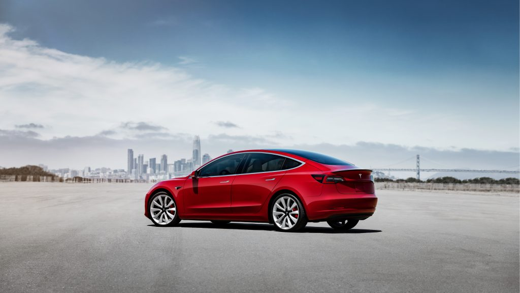 Tesla Model 3 best verkochte elektrische auto van 2019